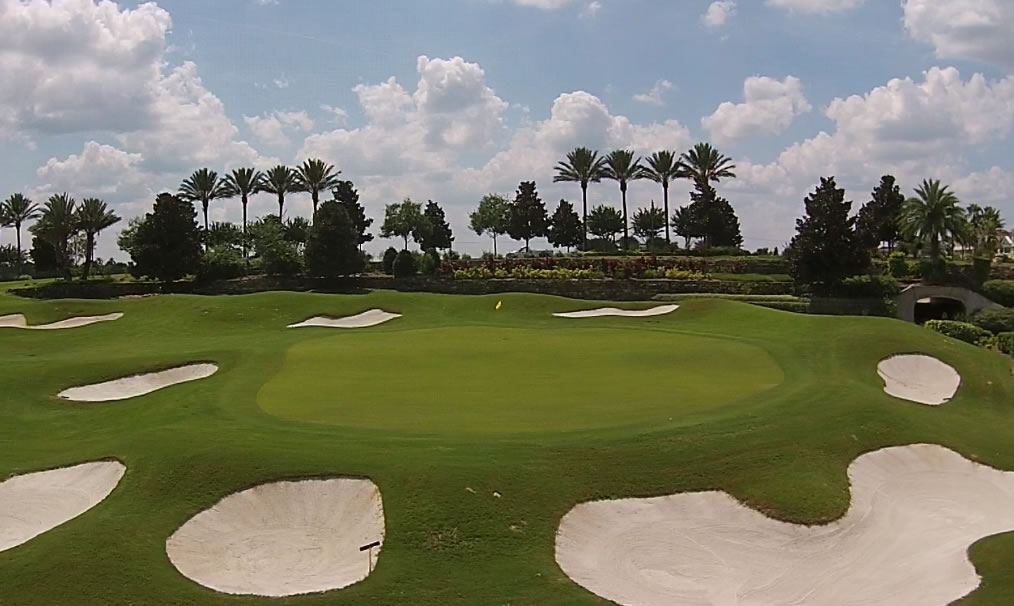 Short term rentals in Florida on the golf course