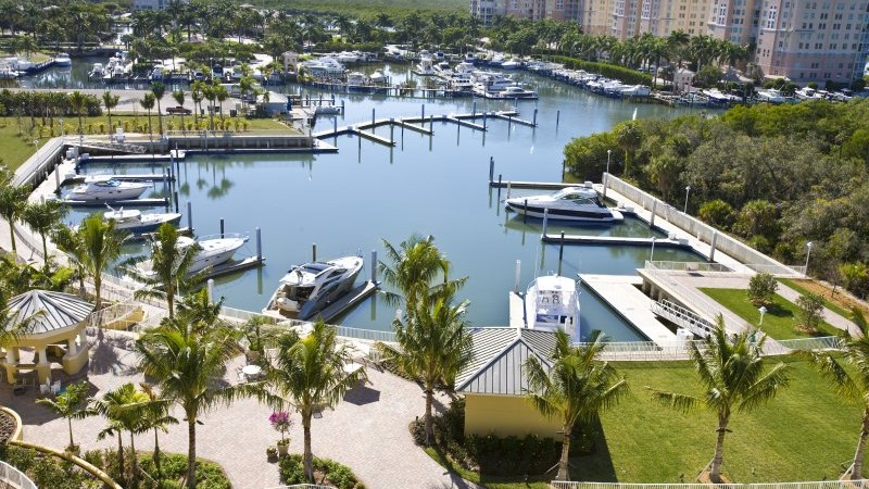 Aqua at Pelican Isles in Naples new waterfront condos for sale