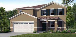 Atlantic model - New pool homes for sale near DIsney
