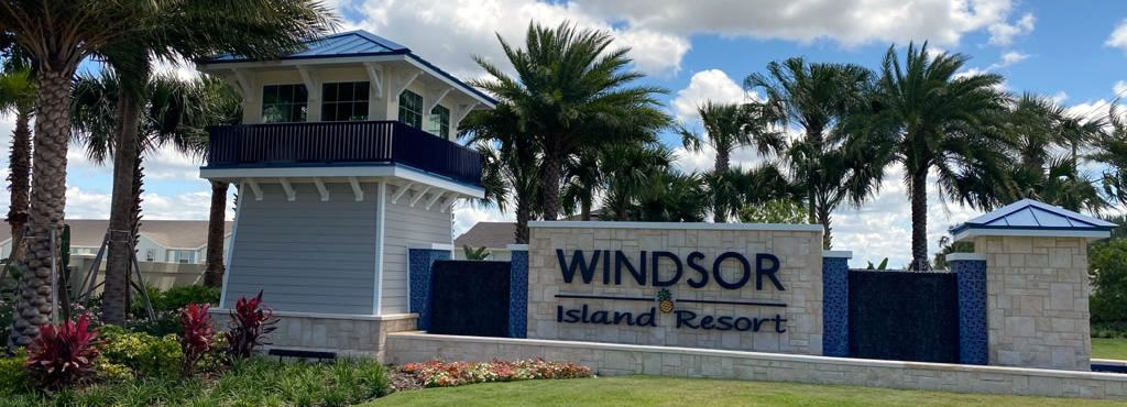Windsor Island Resort Orlando new vacation homes for sale
