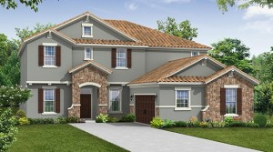 Lake Preserve Orlando – Camelia model by Meritage Homes