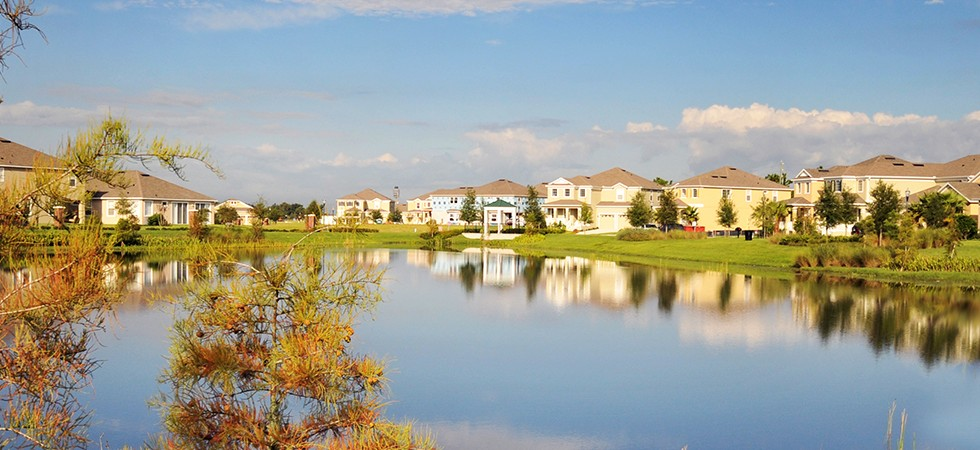 Waters Edge at Lake Nona Townhomes by Park SquareHomes