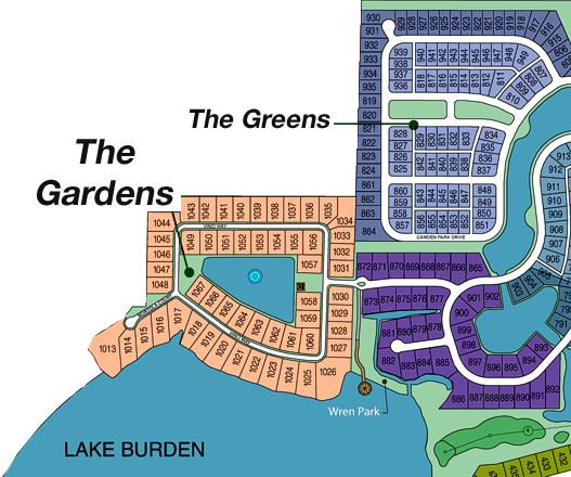 The Gardens at Keene's Pointe by Silliman Homes